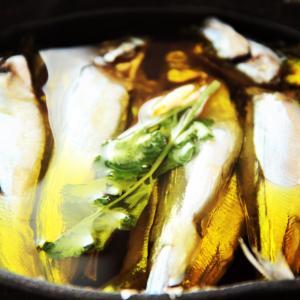 ワインが進むお魚のオイル煮。 料理研究家 指宿さゆり