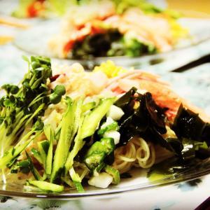 夏の冷たい冷やし中華始めました。 料理研究家 指宿さゆり