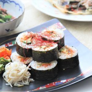 節分におすすめ‼️『韓国風海苔巻き キンパ』。 料理研究家 指宿さゆり