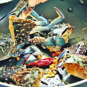 """反響が高いのでリブログ。""""『自家製渡り蟹のスパイスカレー』料理研究家指宿さゆり"""""""