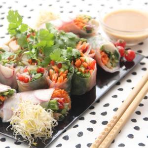 『女性が喜ぶ野菜たっぷり生春巻き』料理研究家 指宿さゆり