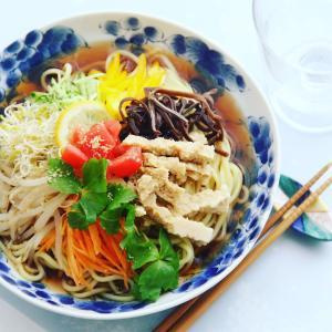『野菜たっぷり美味しい冷やし中華』料理研究家 指宿さゆり
