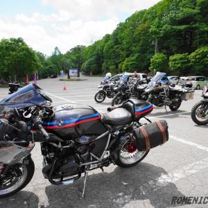 ☆ 202006 BMW touring グンマーへ 金精峠を抜けると真っ白の湯元 ☆