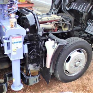 2�トラック・オイル交換