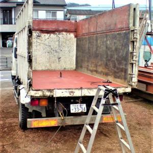 深ダンプ・荷台の補強(2)【完了】