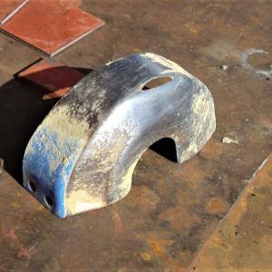 耕運機・ローター部のカバー修理