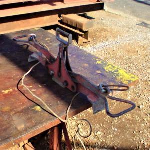 吊りクランプの改修