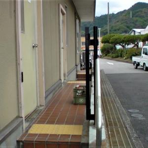 大入島フェリー乗り場・門柱設置(4)