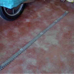 グラウンドキーパーの替刃の製作(1)