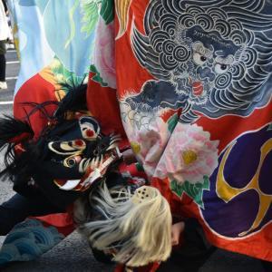 四箇文化祭②獅子舞