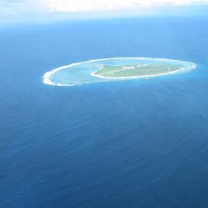 サンゴ礁の島レディエリオット
