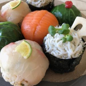 春の手まり寿司 ⭐︎ 4月のレッスン一品に