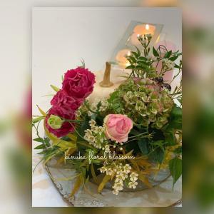 ジュニアフローラルクラス「花を愛でる心が貴方の人生を美しく彩りますように・・・」