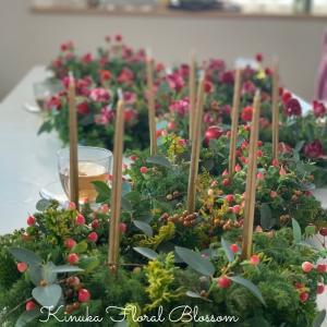 シンプルが素敵☆Wreathで彩る12か月基礎コース「アドヴェンツリース」
