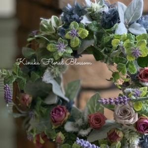「Wreathで彩る12か月コース」「フレッシュ森のブーケ」&今出来る事で輝きましょうね♪