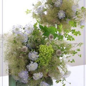 6月の花嫁様に「森のウェディングブーケ」&Wreathで彩る12か月コース「リアルブラボ~!笑」