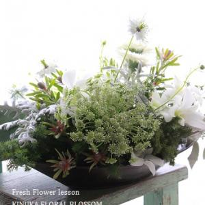White&silver green のクリスマス☆