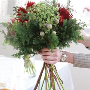 恋する季節の花束コース「クリスマスの花束☆」