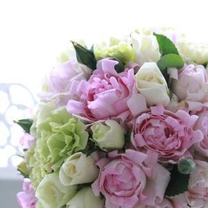 「早春の花は優しく微笑む」ブーケや基本型もパステルカラーで♪