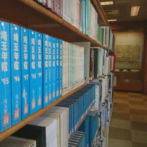 川越中央図書館の2階 郷土資料室