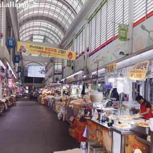 中部市場でドライフルーツとナッツをお買い物~2019.5ソウル旅行2日目♪