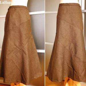 細く見えるロングスカート~ハンドメイドソーイング♪