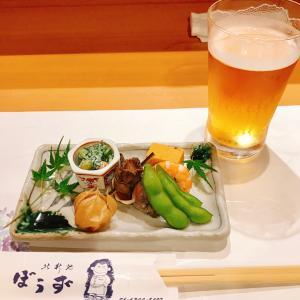 結婚記念日に新地で和食♪