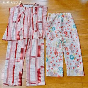 ダブルガーゼのパジャマを縫いました~ハンドメイドソーイング