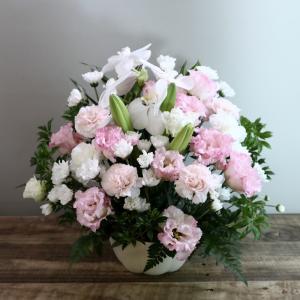亡父への供花