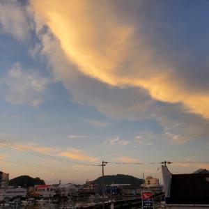 夕方も空の写真✨