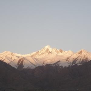 ラダックの美しい山々