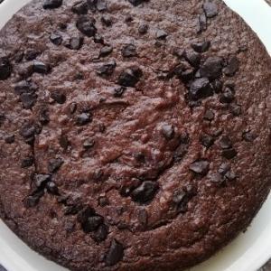 焦がしチェリージャムのチョコレートケーキ