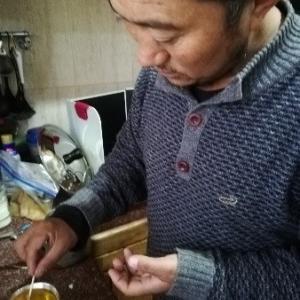 ヤンペルのオイルランプ作り