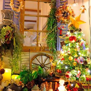 レインボーベーグルとクリスマスツリー。