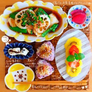 揚げだし豆腐でお昼ご飯&日向ぼっこおぷちゃん。