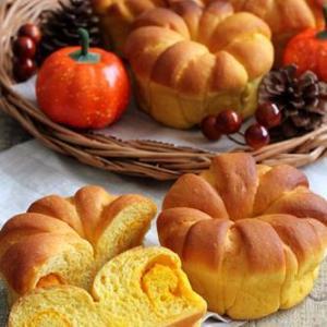 【レシピ】かぼちゃのクラウン~楽しい成形