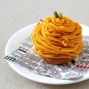 かぼちゃのモンブランパン