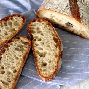 パン教室で「パン・ド・ロデヴ」ルヴァン生活始まる