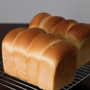 食パン2本同時焼き、安定して焼けています。