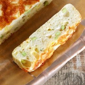 枝豆とチーズのフォカッチャ