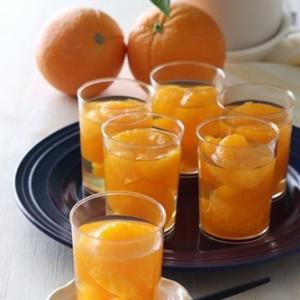 【レシピ】材料3つ!缶詰で簡単みかんゼリー