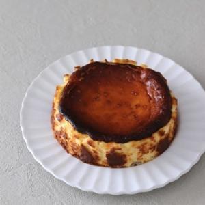 小嶋ルミさんレシピのバスク風チーズケーキ
