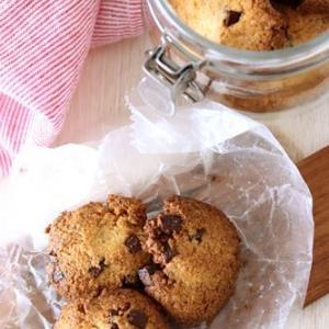 しほさんレシピのチョコとココナッツのクッキー