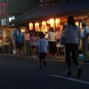 夏の北条夜市(よるいち)開催です!