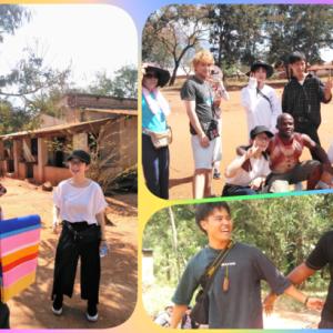 農村滞在キンゴルウィラ村その2☆子どもたちと!☆『人々の交流と民族音楽』AT2019