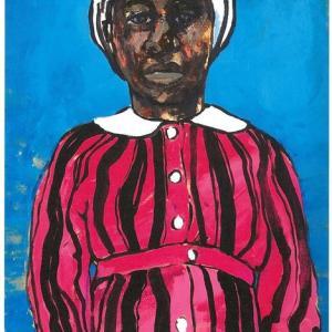 『来者たち』ジンバブウェで出会った人々を描く吉國元さんの個展