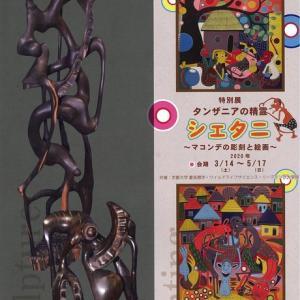 『タンザニアの精霊・シェタニ ~マコンデの彫刻と絵画~』展☆日本モンキーセンターにて!