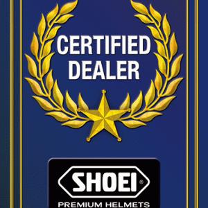 SHOEI 正規取扱店になりました。