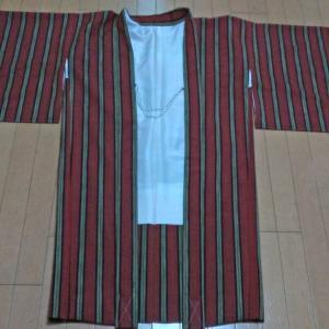 シルクウールの長羽織
