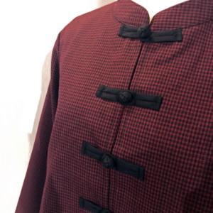 ショート丈カジュアルチャイナジャケット。